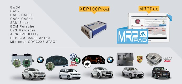 MRP Pad XEP100 Package on Tablet