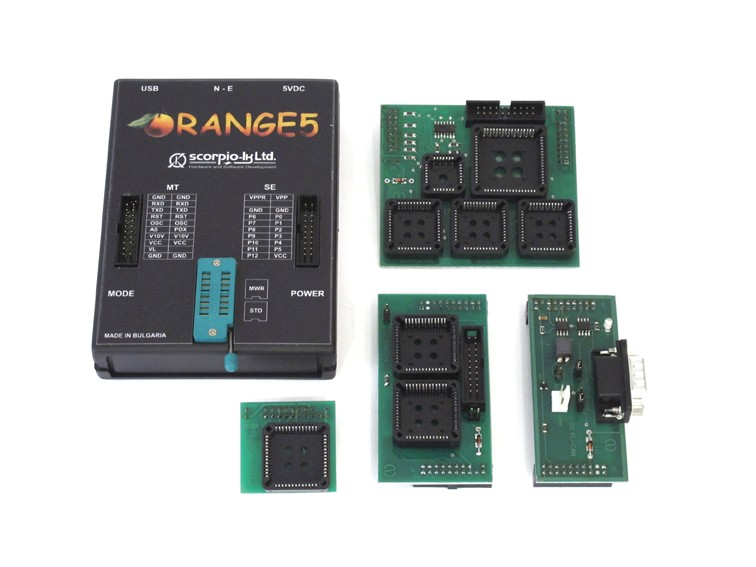 Orange 5  Package (Incudes Base   + Adaptor Package  + Immo HPX  Plus software)