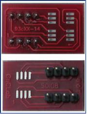SOIC8_14_93Cxx Adaptor